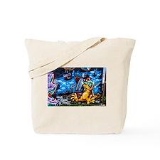 Ganja Graffiti Tote Bag
