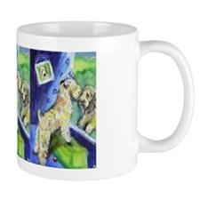SOFT COATED WHEATEN TERRIER wants out Mug