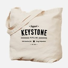 Support The Keystone Pipeline Tote Bag