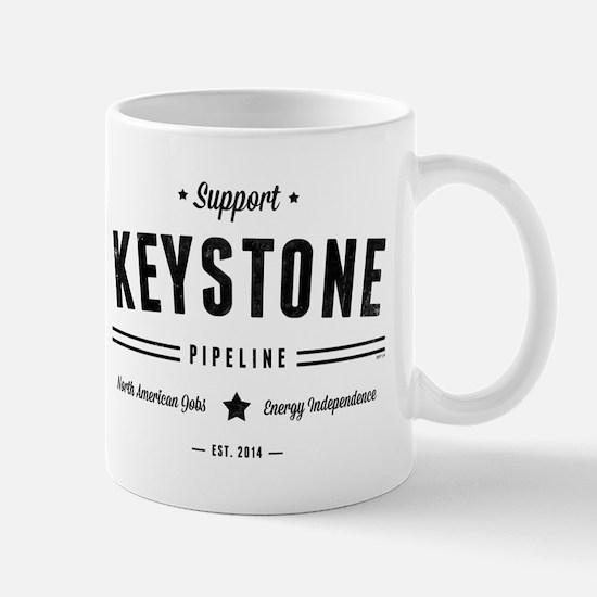 Support The Keystone Pipeline Mugs