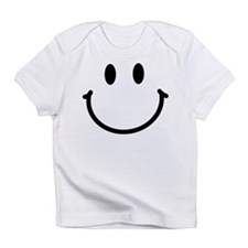 Cute A smiley face girl Infant T-Shirt