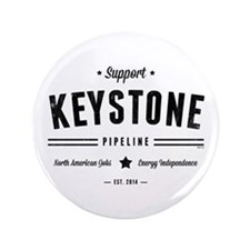"""Support The Keystone Pipeline 3.5"""" Button"""