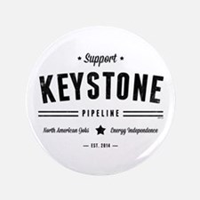 "Support The Keystone Pipeline 3.5"" Button"