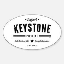 Support The Keystone Pipeline Decal