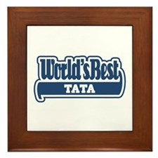 WB Dad [Ukrainian] Framed Tile