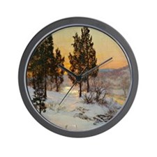 Hill and Valley Wall Clock