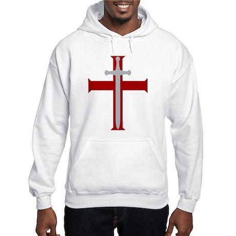 """""""Crusader's Sword"""" Hooded Sweatshirt"""