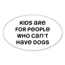 Kids Dogs Decal