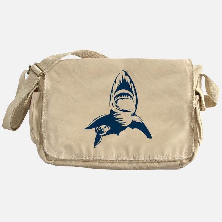 Great White Shark Messenger Bag