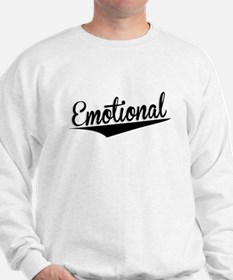 Emotional, Retro, Sweatshirt