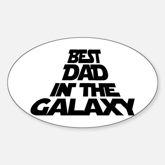 BEST DAD IN THE GALAXY Decal