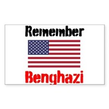 Remember Benghazi Decal
