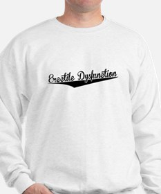 Erectile Dysfunction, Retro, Sweatshirt