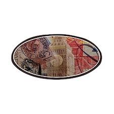 UK flag jubilee vintage decor Patches