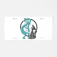 Duet Aluminum License Plate