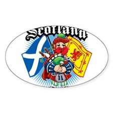 Scotland-Flags-and-Piper Decal