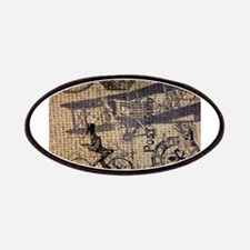 UK vintage bicycle industrial decor Patches
