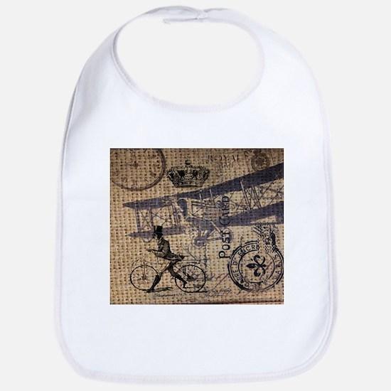 UK vintage bicycle industrial decor Bib