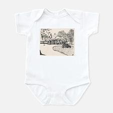 Wayland RR Station (B)  Infant Bodysuit