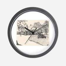 Wayland RR Station (B)  Wall Clock