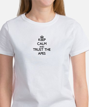 Keep calm and Trust the Apes T-Shirt
