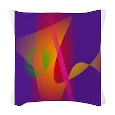 Hawaiian Night Woven Throw Pillow
