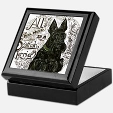 Scottie Basics Keepsake Box
