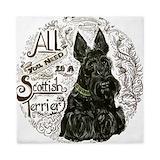 Scottie dog Luxe Full/Queen Duvet Cover