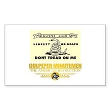 Culpeper Minutemen Decal