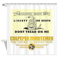Culpeper Minutemen Shower Curtain
