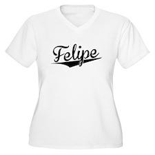 Felipe, Retro, Plus Size T-Shirt