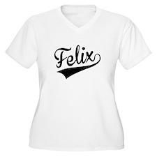 Felix, Retro, Plus Size T-Shirt