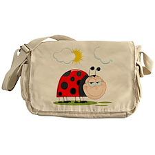 Ladybug garden Messenger Bag