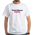World's Greatest Aunt (pink) White T-Shirt
