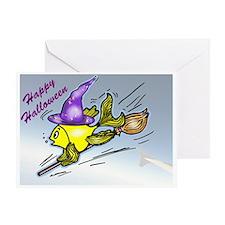 wizard Fish Greeting Card