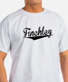 Finchley, Retro, T-Shirt