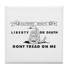 Culpeper Minutemen Tile Coaster