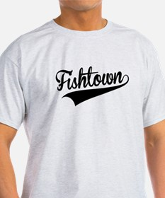 Fishtown, Retro, T-Shirt