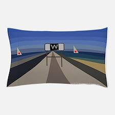 jetty high surf wedge balboa newport Pillow Case