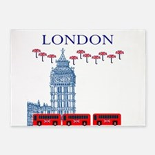 London View 5'x7'Area Rug