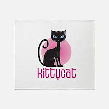 Kittycat Throw Blanket