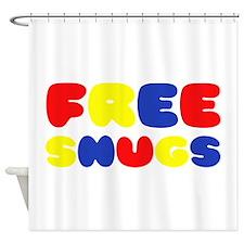 FREE SNUGS Shower Curtain