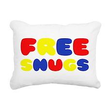 FREE SNUGS Rectangular Canvas Pillow