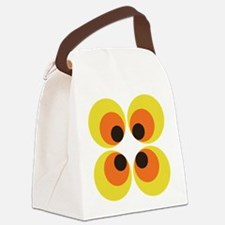 70s Wallpaper Canvas Lunch Bag