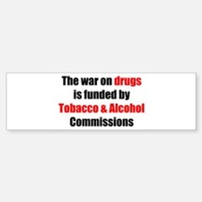 Drug War Bumper Bumper Bumper Sticker