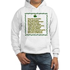 Irish Celtic toasts, sayings Hoodie