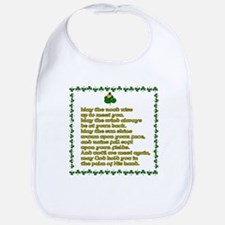 Irish Celtic toasts, sayings Bib