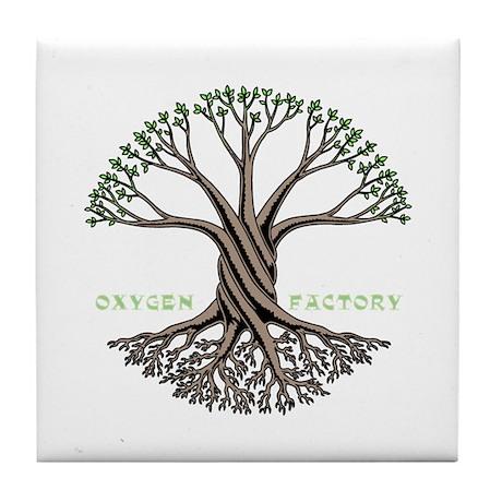Oxygen Factory Tile Coaster