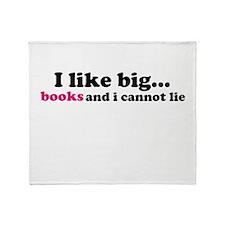 I like big... Throw Blanket