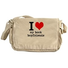 book boyfriends Messenger Bag